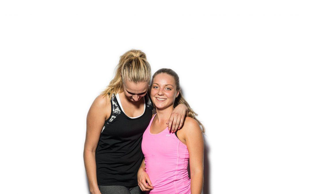 Trainiere mit einem Freund/einer Freundin