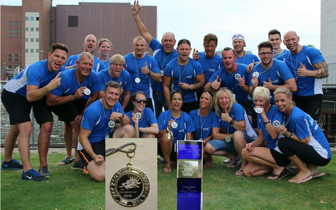 Wolfsburger Actic Fitness Team holt Drachenboot Cup