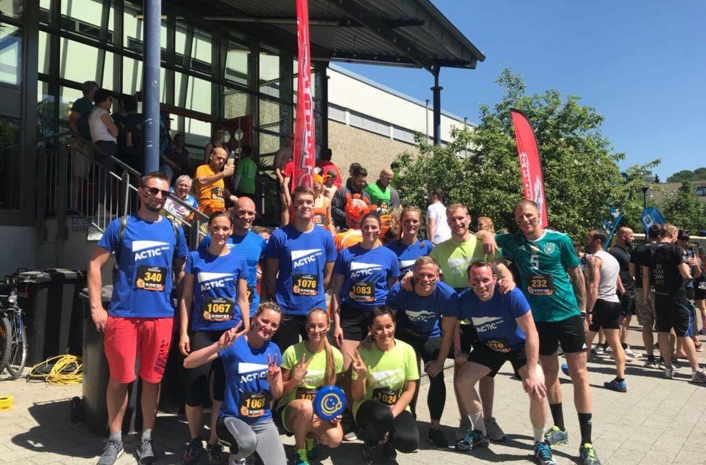 Actic Fitness Team beim Rats Runner Lauf